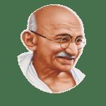 <strong>Pujya Mahatma Gandhi</strong>